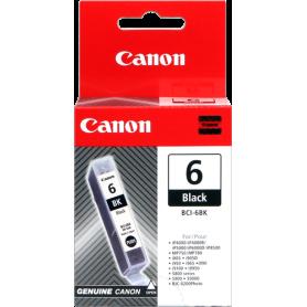 ORIGINAL Cartuccia Inkjet Canon BCI-6bk 4705A002  Nero 280 Pagine 13ml
