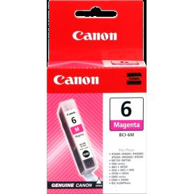 ORIGINAL Cartuccia Inkjet Canon BCI-6m 4707A002 Ciano 280 Pagine 13ml