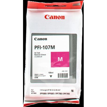 ORIGINAL Cartuccia Canon Inkjet PFI-107m 6707B001 Magenta130ml