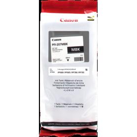 ORIGINAL Cartuccia Inkjet Canon PFI-207mbk 8788B001 Nero Opaco 300ml