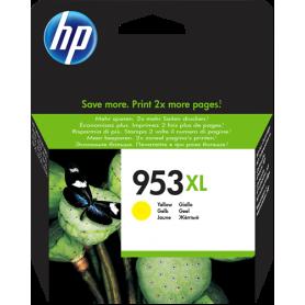 ORIGINAL Cartuccia HP Inkjet 953 / F6U14AE Giallo 700 Pagine