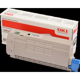 ORIGINAL Toner OKI C712 /  OKI 46507616 Nero 1100 Pagine