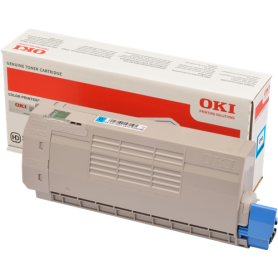 ORIGINAL Toner OKI C712 /  OKI 46507615  Ciano 11500 Pagine