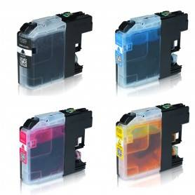 COMPATIBILE Multipack Cartucce Brother 4 colori CL123BK XL / LC123C XL / LC123M XL/ LC123Y XL