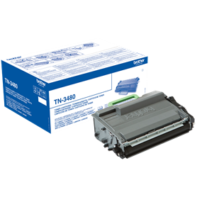 Toner Brother TN3480 Nero 8000 Pagine Originale