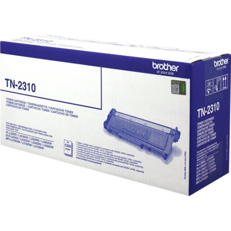 ORIGINAL Toner Brother TN-2310 Nero 1200 Pagine