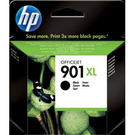 L Cartuccia Inkjet HP 901 XL Originale HP CC654AE Nero 700 Pagine