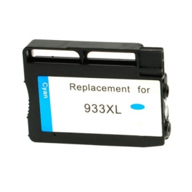 Cartuccia d'inchiostro ciano CN054AE 933XL ~825 Pagine Per Stampanti HP