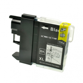 Cartuccia Brother LC980bk - Compatibile LC-980 Nero 300 Pagine