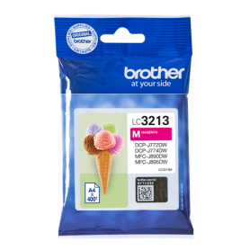 Cartuccia Brother LC3213M Inkjet Originale Magenta