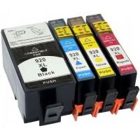 Cartucce HP  920XL Compatibile Multipack 4 colori BK/C/M/Y