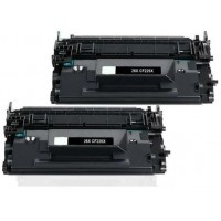 Kit due Toner HP CF226X  Compatibile HP 26X Nero 9000 Pagine