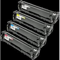 Toner HP Multipack colori c/m/y U0SL1AM 131A Compatibile CF210X + CF211A + CF212A + CF213A