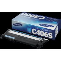 Toner Samsung CLT-C406S Originale Ciano 1000 Pagine