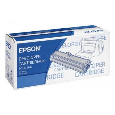ORIGINAL Epson toner nero C13S050166 S050166 ~6000 Seiten