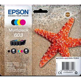 Cartucce Epson 603 Multipack C13T03U64010
