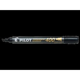 Pilot Permanent Marker 400 nero Punta scalpello broad