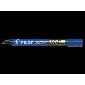 Pilot Permanent Marker 400 Blu Punta scalpello broad