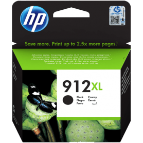 Cartuccia HP 912XL Originale 3YL84AE Nero