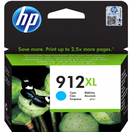 Cartuccia HP 912XL Originale 3YL81AE Ciano