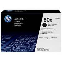 ORIGINAL HP Value Pack nero CF280XD 80X 2 -Pack