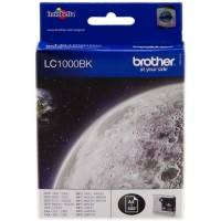 ORIGINAL Brother Cartuccia d'inchiostro nero LC1000bk LC-1000 ~500 Seiten