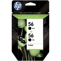 ORIGINAL HP Multipack nero C9502AE 56+56 2x C6656AE