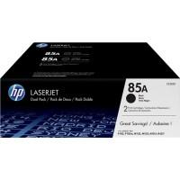 ORIGINAL HP Value Pack nero CE285AD 85A confezione doppia: 2x CE285A