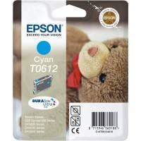 ORIGINAL Epson Cartuccia d'inchiostro ciano C13T06124010 T0612 ~420 Seiten 8ml