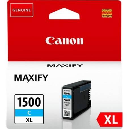 ORIGINAL Canon Cartuccia d'inchiostro ciano PGI-1500c XL 9193B001 ~1020 Seiten 12ml