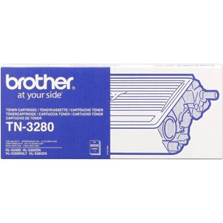 ORIGINAL Brother toner nero TN-3280  ~8000 Seiten