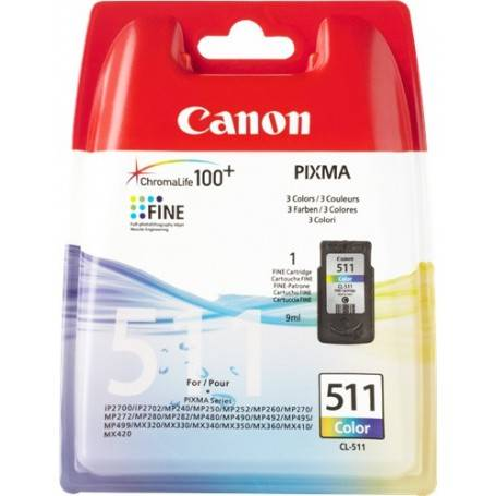 Cartuccia Canon Cartuccia  colore CL-511 2972B001 9ml