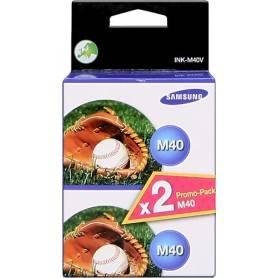 ORIGINAL Samsung Multipack nero INK-M40V  confezione doppia a 750 p.