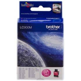 ORIGINAL Brother Cartuccia d'inchiostro magenta LC900m LC-900 ~400 Seiten