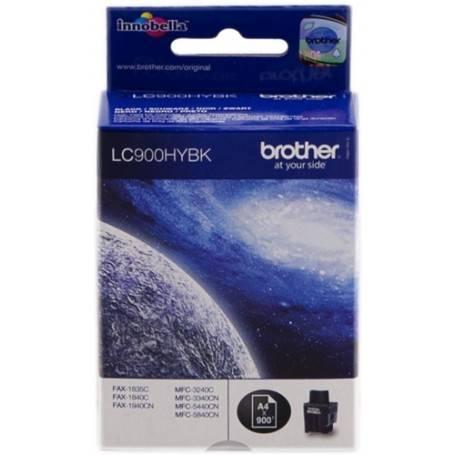 ORIGINAL Brother Cartuccia d'inchiostro nero LC900hybk LC-900 ~900 Seiten