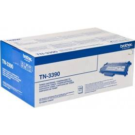ORIGINAL Brother toner nero TN-3390  ~12000 Seiten