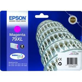 Cartuccia Epson T7903 / C13T79034010 Magenta 2000 Pagine 17.1ml 79XL Originale