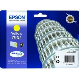 Cartuccia Epson T7904 / C13T79044010 Giallo 2000 Pagine  17.1ml 79XL Originale