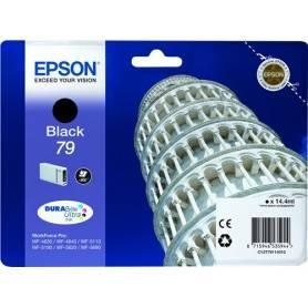 ORIGINAL Epson Cartuccia d'inchiostro nero C13T79114010 T7911 ~900 Seiten 14.4ml 79