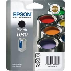 ORIGINAL Epson Cartuccia d'inchiostro nero C13T04014010 T040 ~420 Seiten 17ml