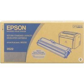 ORIGINAL Epson toner nero C13S050522 S050522 ~1800 Seiten incl. sviluppatore