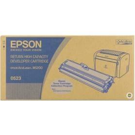 ORIGINAL Epson toner nero C13S050523 S050523 ~3200 Seiten incl. sviluppatore