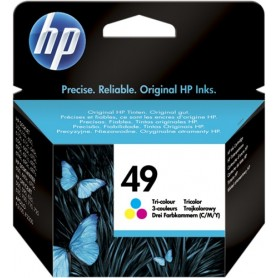 ORIGINAL HP Cartuccia d'inchiostro colore 51649AE 49 22.8ml