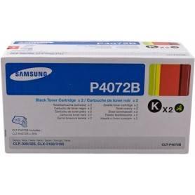ORIGINAL Samsung Value Pack nero CLT-P4072B  Confezione doppia: 2x CLT-K4072S