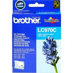 ORIGINAL Brother Cartuccia d'inchiostro ciano LC970c LC-970 ~300 Seiten