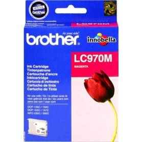 ORIGINAL Brother Cartuccia d'inchiostro magenta LC970m LC-970 ~300 Seiten