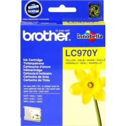 ORIGINAL Brother Cartuccia d'inchiostro giallo LC970y LC-970 ~300 Seiten