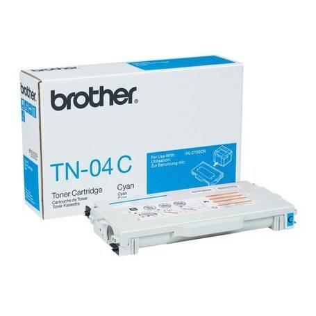 ORIGINAL Brother toner ciano TN-04c  ~6600 Seiten