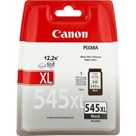 ORIGINAL Canon Cartuccia d'inchiostro nero PG-545XL 8286B001 ~400 Seiten 15ml