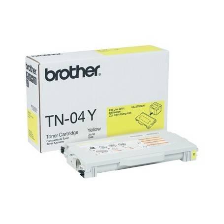 ORIGINAL Brother toner giallo TN-04y  ~6600 Seiten